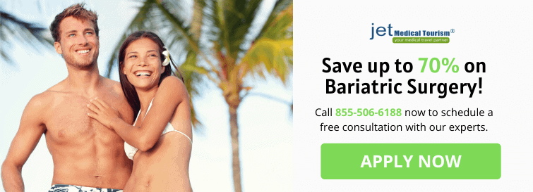 Save 70% on Weight Loss Surgery