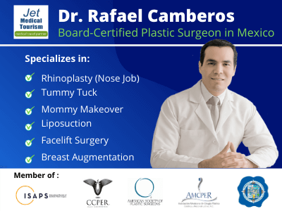 Dr Rafael Camberos Board Certified Plastic Surgeon In Tijuana Mexico Jet Medical Tourism In Mexico
