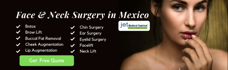 Plastic Surgery in Mexico on Face and Neck
