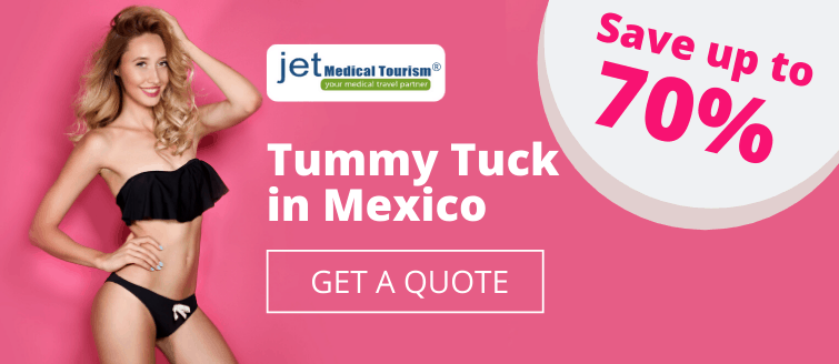 Save 70% on Tummy Tuck Mexico