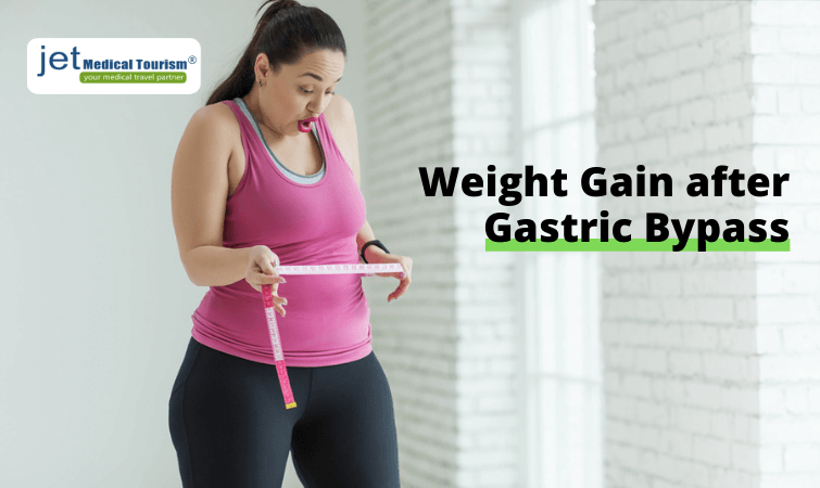 Weight gain after gastric bypass