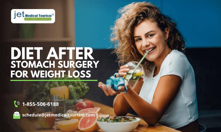 Diet after stomach surgery