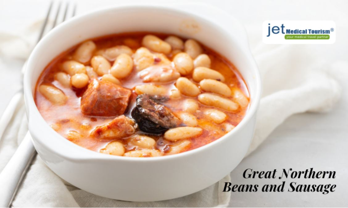 Great Northern Beans and Sausage for Gastric Sleeve Patients