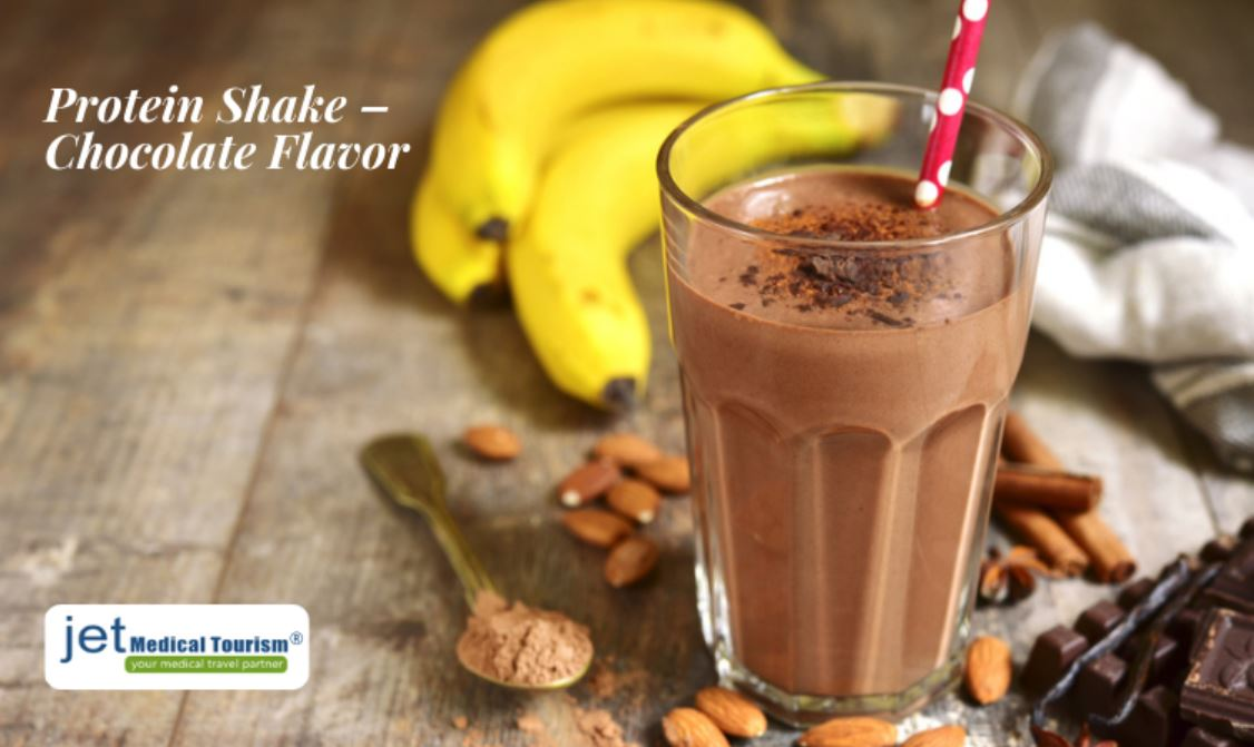 Protein Shake Chocolate Flavor for Gastric Sleeve Patients