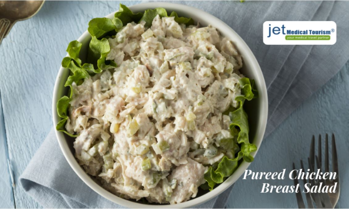 Pureed Chicken Breast Salad for Gastric Sleeve Patients