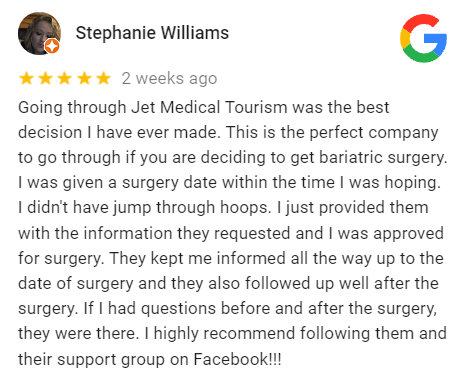 Bariatric Surgery in Mexico Reviews
